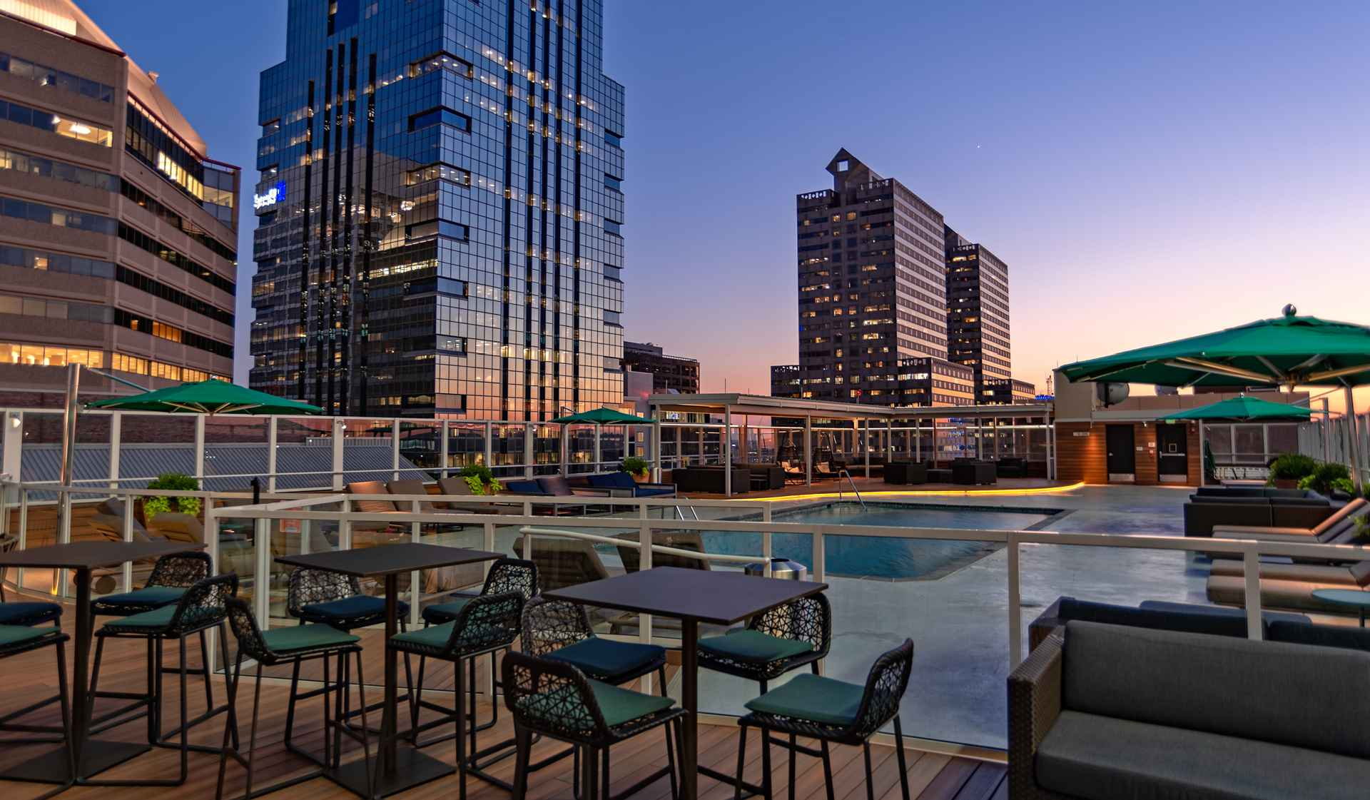 The Sterling Apartment Homes - Philadelphia, PA - Patio and Pool